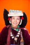 Mujer de Ladakh Foto de archivo libre de regalías