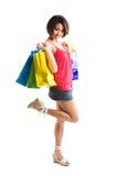 Mujer de las compras foto de archivo libre de regalías