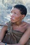 Mujer de los bosquimanos Imagen de archivo