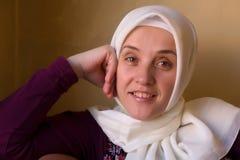 Mujer de los musulmanes del Islam fotografía de archivo libre de regalías