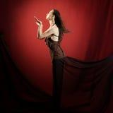 Mujer de lujo Fotografía de archivo