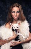Mujer de lujo Foto de archivo libre de regalías