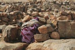 Mujer de Malí Imagen de archivo libre de regalías