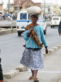 Mujer de Malagsy Foto de archivo