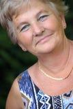 Mujer de mediana edad Fotografía de archivo