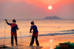 Mujer de Meizhou imagen de archivo libre de regalías