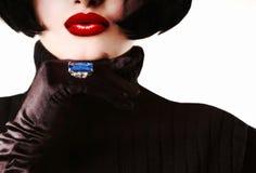 Mujer de moda Foto de archivo