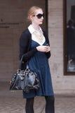 Mujer de moda en Nueva York Imagenes de archivo