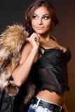 Mujer de moda hermosa Imagenes de archivo