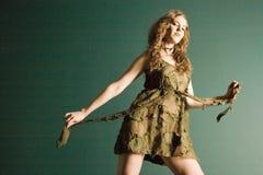 Mujer de moda hermosa foto de archivo libre de regalías