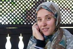Mujer de Musilm foto de archivo