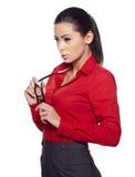 Mujer de negocios. Foto de archivo libre de regalías