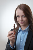 Mujer de negocios Imagenes de archivo
