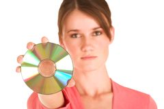 Mujer de negocios #406 Foto de archivo libre de regalías