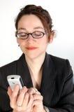 Mujer de negocios 8 Fotos de archivo libres de regalías