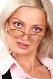 Mujer de negocios. Fotos de archivo libres de regalías