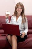 Mujer de negocios acertada imágenes de archivo libres de regalías