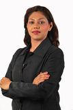 Mujer de negocios acertada Foto de archivo