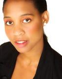 Mujer de negocios africana Fotografía de archivo libre de regalías