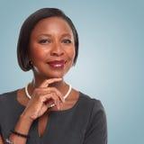 Mujer de negocios afroamericana foto de archivo libre de regalías