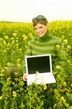 Mujer de negocios al aire libre fotos de archivo