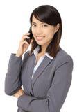 Mujer de negocios asiática Fotografía de archivo libre de regalías