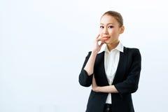 Mujer de negocios asiática imágenes de archivo libres de regalías