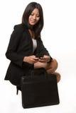Mujer de negocios asiática Foto de archivo libre de regalías