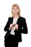 Mujer de negocios atractiva. Fotografía de archivo libre de regalías