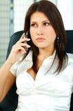 Mujer de negocios atractiva imágenes de archivo libres de regalías