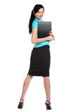 Mujer de negocios atractiva joven. Imagenes de archivo