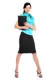 Mujer de negocios atractiva joven. Imagen de archivo