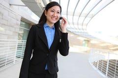 Mujer de negocios bastante asiática fotos de archivo libres de regalías