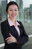 Mujer de negocios bastante china Fotografía de archivo