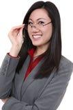 Mujer de negocios bastante joven Fotografía de archivo