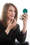 Mujer de negocios caucásica rubia hermosa Imagen de archivo libre de regalías