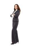 Mujer de negocios confidente Foto de archivo