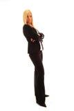 Mujer de negocios confidente Fotografía de archivo libre de regalías