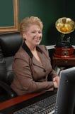 Mujer de negocios corporativos Fotos de archivo