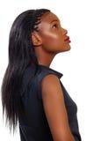 Mujer de negocios del afroamericano fotos de archivo