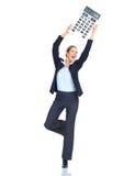 Mujer de negocios del contable Imágenes de archivo libres de regalías
