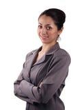 Mujer de negocios del Latino Imágenes de archivo libres de regalías