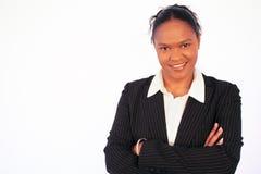 Mujer de negocios - diversidad del lugar de trabajo Fotos de archivo libres de regalías