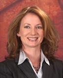 Mujer de negocios en juego Imagen de archivo libre de regalías