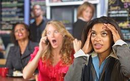 Mujer de negocios enfadada Foto de archivo