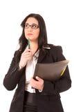 Mujer de negocios grande Imagen de archivo