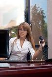 Mujer de negocios hermosa imágenes de archivo libres de regalías