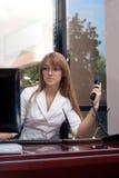 Mujer de negocios hermosa Fotos de archivo