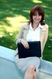 Mujer de negocios hermosa fotografía de archivo