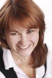 Mujer de negocios hermosa Imagen de archivo